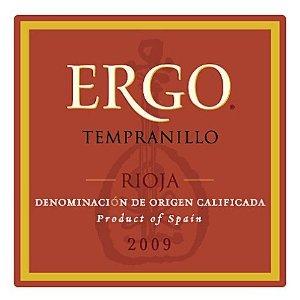 Ergo Tempranillo at Ventanas