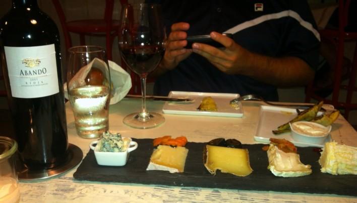 Murray's Cheese Bar & Abando Rioja