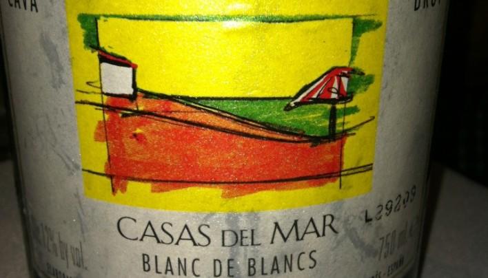 Time for Bubbly-Casas del Mar Blanc de Blancs Cava Brut
