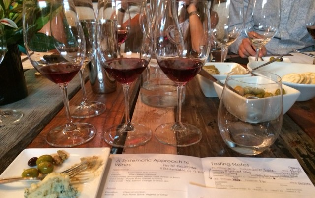 Rare Reds Class at New York Vintners