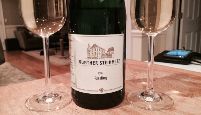 Gunther Steinmetz Riesling 2014