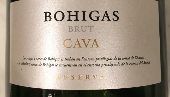 Bohigas Brut Cava Reserva