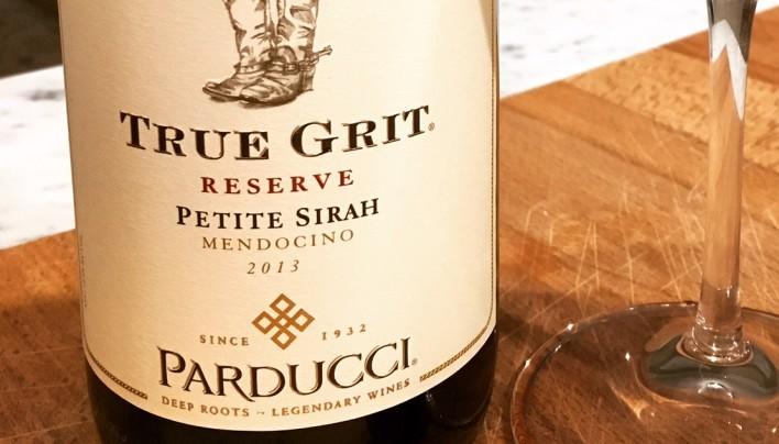 Parducci True Grit Reserve Petite Sirah 2013